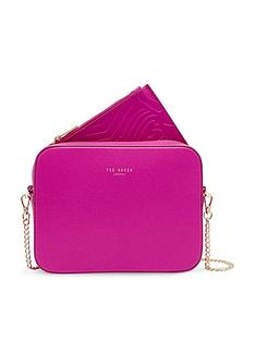 ted-baker-core-leather-camera-bag-bright-pink