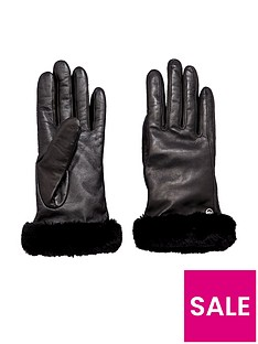 ugg-classic-leather-smart-gloves