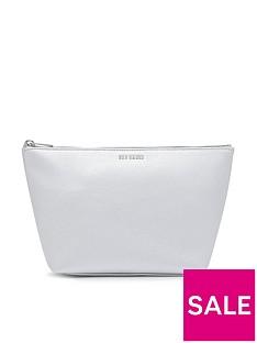 ted-baker-metallic-grainy-wash-bag