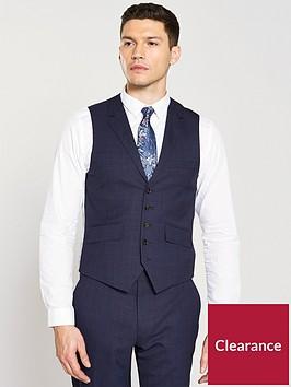 ted-baker-sterling-check-waistcoat-bluenbsp