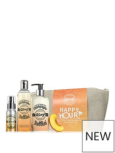 boozi-bodycare-peach-amp-passionfruit-bellini-happy-hour-wash-bag-giftset