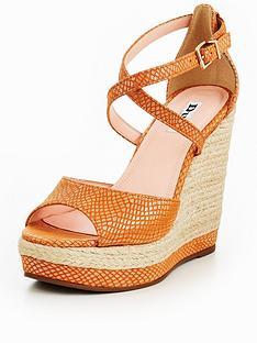 dune-london-kandis-high-wedge-sandal-orange