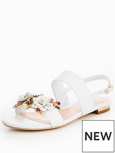 dune-kiko-flower-garden-two-band-sandal-white