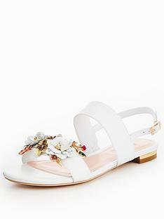 dune-london-kiko-flower-garden-two-band-sandal-white