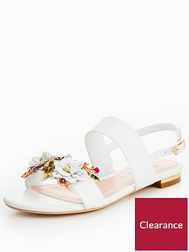 dune-london-kiko-flower-garden-two-band-sandal-white