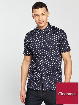 ted-baker-short-sleeve-spot-print-shirt