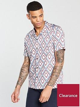 ted-baker-ss-diamond-print-shirt