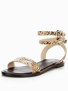 dune-london-lagoma-studded-flat-sandal-snake-print