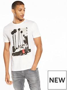 replay-la-car-print-t-shirt