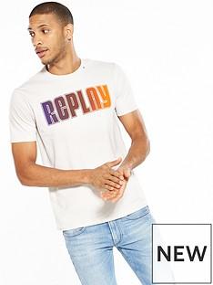 replay-multi-coloured-logo-t-shirt