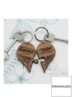personalised-valentines-couples-romantic-joining-heart-keyring