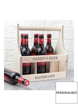 personalised-wooden-beer-trug
