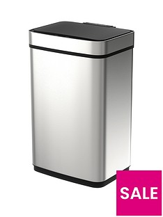 morphy-richards-pro-60-litre-rectangular-sensor-bin-ndash-stainless-steel