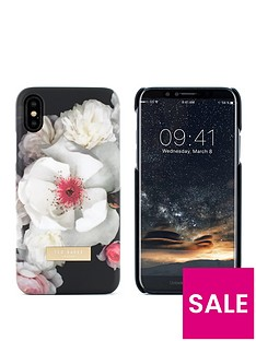 ted-baker-soft-feel-hard-shell-iphone-x-nbsp--kamala-chelsea-black