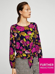 mango-floral-print-shell-top
