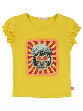 Billieblush Girls Short Sleeve Printed T-Shirt thumbnail