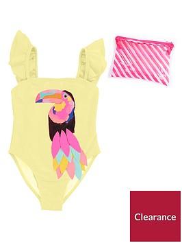 billieblush-girls-glitter-otucan-swimsuit-yellow