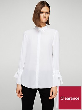 mango-tie-sleeve-shirt