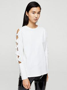 mango-bow-sleeve-sweat