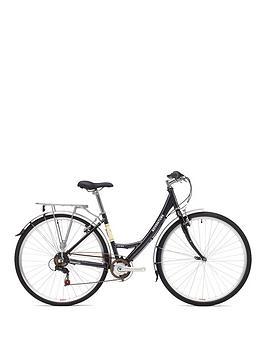Adventure Prima Ladies Heritage Bike 19 inch Frame, Black, Women