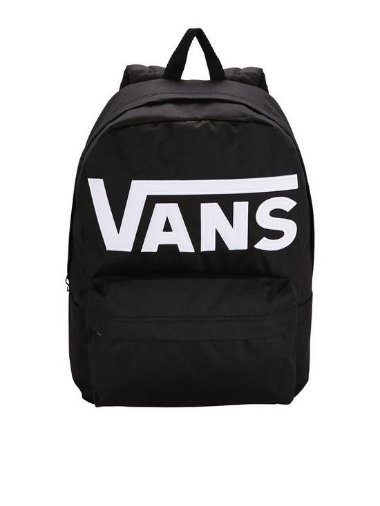 88f97e3392 Vans Mens Old Skool II Backpack - Black