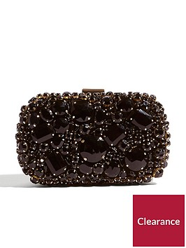 karen-millen-jewelled-box-clutch-bag