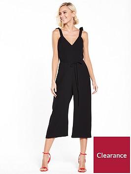 river-island-river-island-cami-culotte-jumpsuit--black