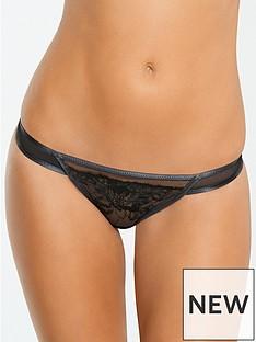 myleene-klass-mesh-embroidery-overlay-thong-black