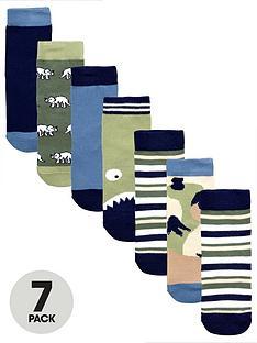 mini-v-by-very-boys-7-pack-dinosaur-socks