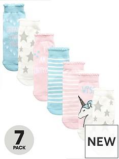 mini-v-by-very-girls-7-pack-unicorn-amp-star-socks