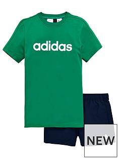 adidas-boy-tee-and-short-set