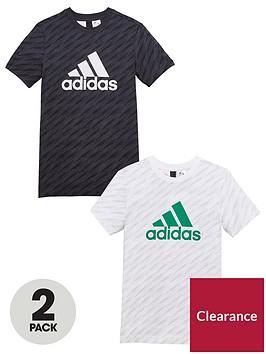 adidas-boys-2-pack-tee-blackwhitenbsp