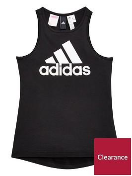 adidas-girls-logo-tank