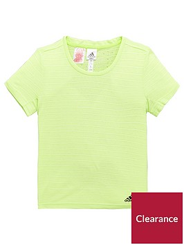 adidas-girls-chill-tee-pastel-yellownbsp