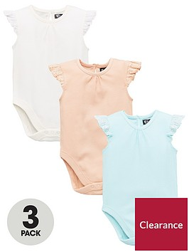 mini-v-by-very-baby-girls-3-pack-rib-amp-lace-trim-bodysuits