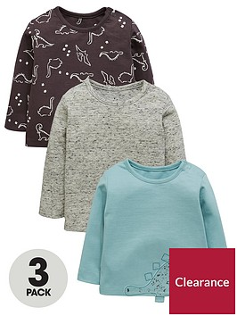 mini-v-by-very-baby-boys-3-pack-3d-dino-tees-long-sleeved