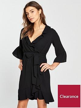 v-by-very-ruffled-wrap-dress-with-tie-waist