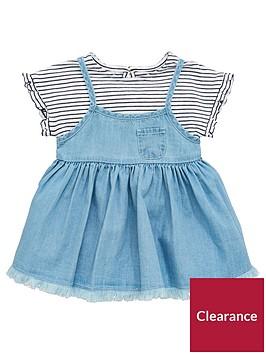 mini-v-by-very-baby-girls-2-piece-top-amp-denim-dress-set