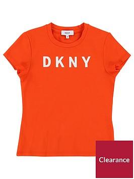 dkny-girls-logo-short-sleeve-t-shirt