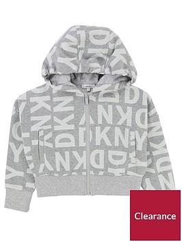 dkny-girls-logo-print-zip-through-cropped-hoody