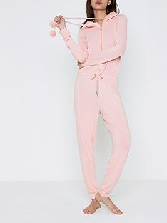 river-island-river-island-jersey-onesie-with-fur