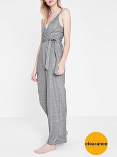 river-island-river-island-lounge-tie-belt-jumpsuit--grey