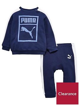 puma-baby-boys-classic-crew-jog-set