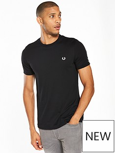 fred-perry-fred-perry-ringer-t-shirt-black
