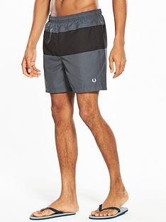 fred-perry-panelled-swim-short