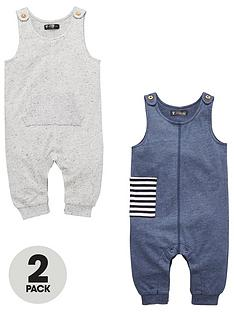 mini-v-by-very-baby-boys-2-pack-soft-jersey-dungarees