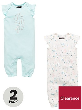 mini-v-by-very-baby-girls-2pk-short-sleeved-rompers