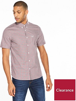 fred-perry-three-colour-gingham-short-sleeve-shirt