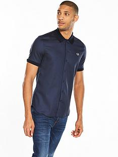 fred-perry-fred-perry-micro-pattern-short-sleeve-shirt