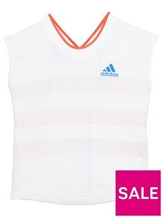 adidas-younger-girls-summer-shirt-whitenbsp